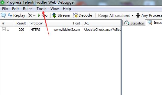 使用Fiddler抓取HTTPS网络包